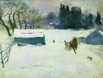 Живопись | Сергей Герасимов | Зима, 1939