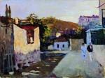 Живопись | Сергей Герасимов | Улица в Кисловодске, 1939