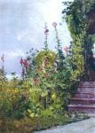 Живопись | Childe Hassam | Celia Thaxter's Garden, Appledore, Isles of Shoals, 1890