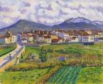 Живопись | Darío de Regoyos y Valdés | Paisaje de Hernani, 1900