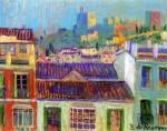 Живопись | Darío de Regoyos y Valdés | Vista de la Alhambra