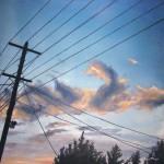 Живопись | Francis McCrory | Electric Blue
