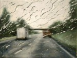 Живопись | Francis McCrory | Rainy Windscreen Paintings | Pieces Of Sky
