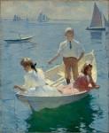 Живопись | Фрэнк Уэстон Бенсон | Тихое утро, 1904