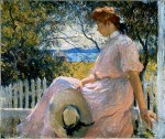 Живопись | Фрэнк Уэстон Бенсон | Элеанора, 1907