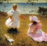 Живопись | Фрэнк Уэстон Бенсон | Сёстры, 1899