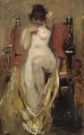 Живопись | Ignacio Pinazo Camarlench | Desnudo femenino, 1894