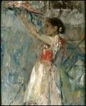 Живопись | Ignacio Pinazo Camarlench | Ofrenda de flores, 1898