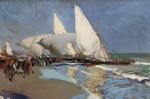 Живопись | Хоакин Соролья-и-Бастида | Пляж в Валенсии, 1908