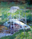 Живопись | Джон Генри Твахтман (Туоктмен) | Белый мостик, 1900