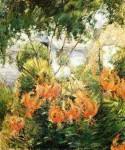 Живопись | Джон Генри Твахтман (Туоктмен) | Тигровые лилии, 1899