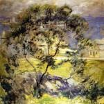 Живопись | John Henry Twachtman | Wild Cherry Tree, 1901