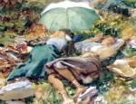 Живопись | Джон Сингер Сарджент | A Siesta, 1907