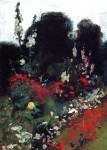 Живопись | John Singer Sargent | Corner of a Garden, 1879