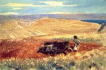 Живопись | Джон Сингер Сарджент | Hills of Galilee, 1906