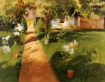 Живопись | John Singer Sargent | Millet's Garden, 1886