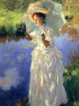 Живопись | John Singer Sargent | Morning Walk, 1888