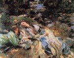 Живопись | John Singer Sargent | The Brook, 1907