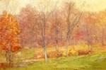 Живопись | Джулиан Олден Уир | Autumn Rain, 1890