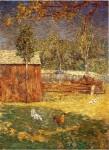 Живопись | Джулиан Олден Уир | Midday, 1891