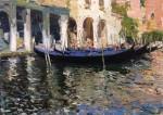 Живопись | Luis Giner Bueno | Gondolas en Venecia