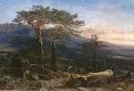 Живопись | Martín Rico y Ortega | Un paisaje del Guadarrama, 1858