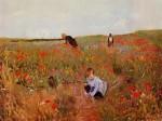 Живопись | Мэри Кассат | Красные Маки, 1880