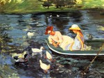 Живопись | Mary Stevenson Cassatt | Summertime, 1894