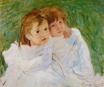 Живопись | Mary Stevenson Cassatt | The Sisters, 1885