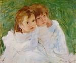 Живопись | Мэри Кассат | Сёстры, 1885