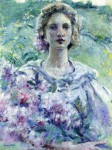 Живопись | Robert Reid | Girl with Flowers