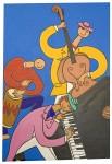 Живопись | Stéphane Delaprée | Trio Jazz