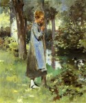 Живопись | Теодор Робинсон | By the River, 1887