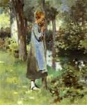Живопись | Theodore Robinson | By the River, 1887