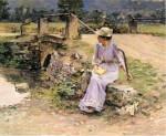 Живопись | Theodore Robinson | La Débâcle, 1892