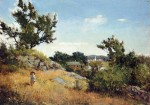 Живопись | Willard Metcalf | A View of the Village