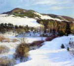 Живопись | Willard Metcalf | Cornish Hills, 1911