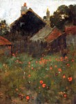 Живопись | Willard Metcalf | The Poppy Field