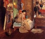 Живопись | William Merritt Chase | Connoisseur - The Studio Corner, 1882