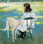 Живопись | William Merritt Chase | Good Friends, 1888