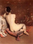 Живопись | William Merritt Chase | The Model, 1888