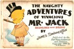 Иллюстрация | James Swinnerton | The Naughty Adventures of Mr.Jack | cover, 1904