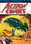 Иллюстрация | Jerry Siegel & Joe Shuster | Superman | Обложка Action Comics №1, 1938
