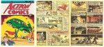 Иллюстрация | Jerry Siegel & Joe Shuster | Superman | Action Comics №1, 1938