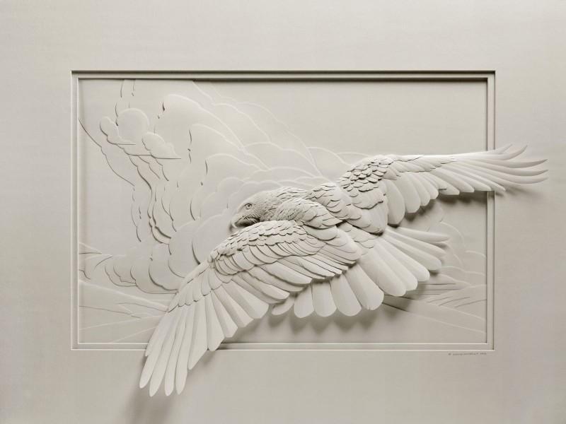 Кэлвин Николлс. Бумажное искусство