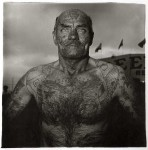 Фотография | Diane Arbus | Tattooed man at a carnival