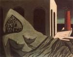 Живопись | Джорджо де Кирико | Ариадна, молчаливая статуя, 1913