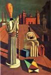 Живопись | Джорджо де Кирико | Беспокойные музы, 1918