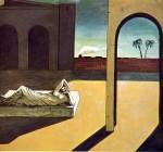Живопись | Джорджо де Кирико | Вознаграждение предсказателя, 1913