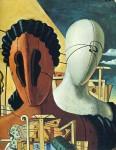 Живопись | Джорджо де Кирико | Две маски, 1926